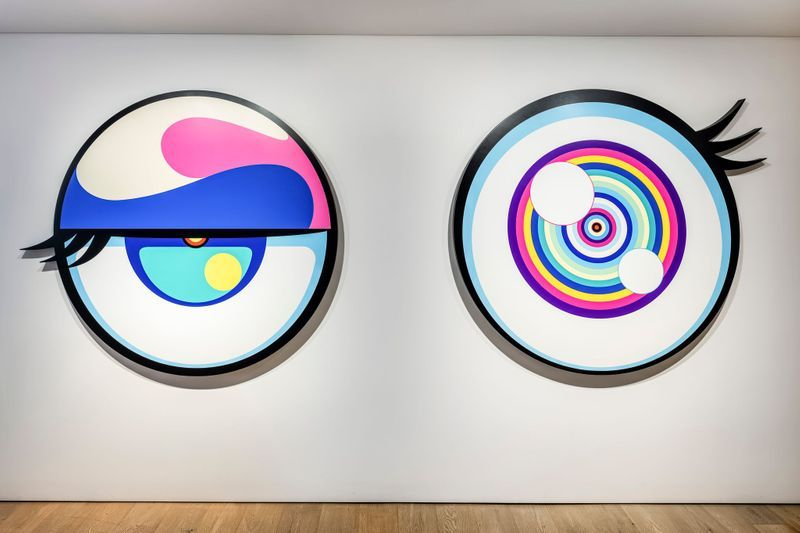 "Takashi_Murakami_View of the group exhibition ""Healing"" at Perrotin, Seoul (South Korea), 2020_23816"