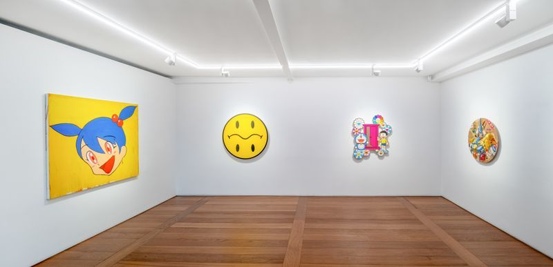 "Takashi_Murakami_View of the group exhibition ""Healing"" at Perrotin, Seoul (South Korea), 2020_23818"