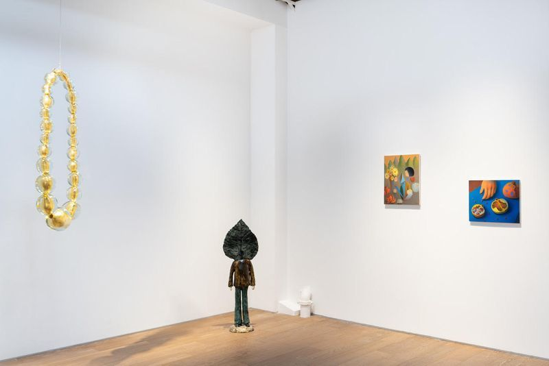 """Chen_Ke_View of the group exhibition """"Messenger"""" at Perrotin, Shanghai (Chine), 2020_23842"""