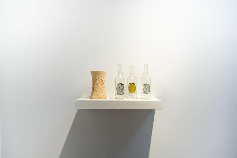 """Chen_Ke_View of the group exhibition """"Messenger"""" at Perrotin, Shanghai (Chine), 2020_23912"""