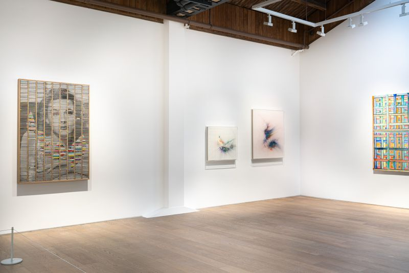 """Chen_Ke_View of the group exhibition """"Messenger"""" at Perrotin, Shanghai (Chine), 2020_24115"""