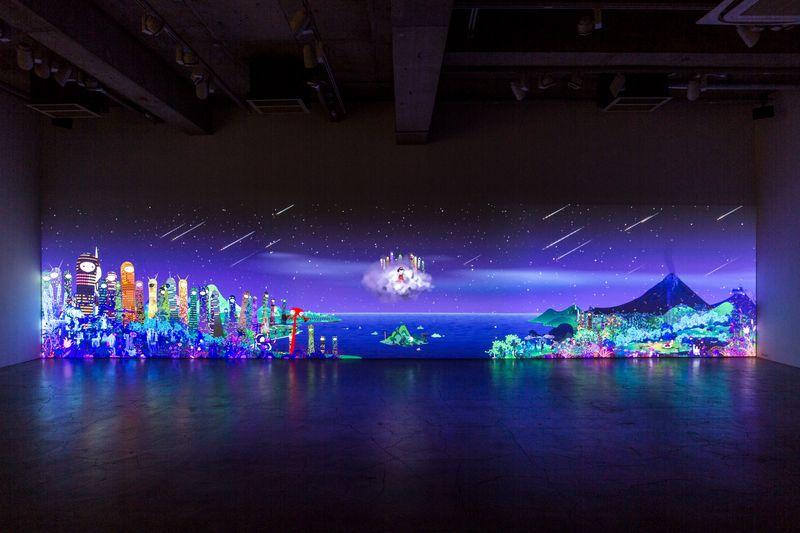 "Chiho_Aoshima_View of the exhibition ""Rebirth Of The World"" at Kaikai Kiki Gallery Tokyo (Japan)_24164"