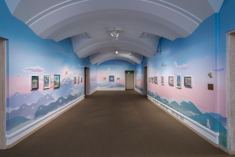 "Chiho_Aoshima_View of the exhibition ""Rebirth of the World"" at Asian Art Museum Seattle (USA), 2015_24181"