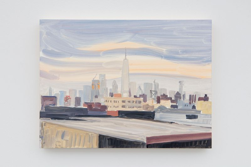 "jean_philippe_delhomme_View of the exhibition ""New York in the Distance"" at Perrotin, New York BS (USA), 2020_24252"