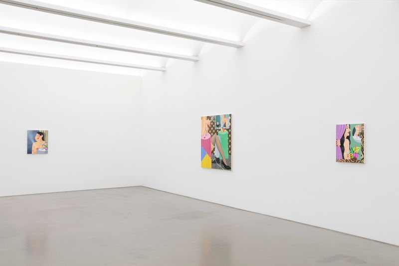 "View of the exhibition ""Betrayal (Sweet Blood)"" at Perrotin, New York (USA), 2020"