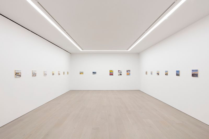 "jean_philippe_delhomme_View of the exhibition ""New York in the Distance"" at Perrotin, New York BS (USA), 2020_24266"