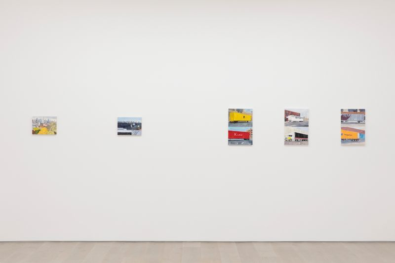 "jean_philippe_delhomme_View of the exhibition ""New York in the Distance"" at Perrotin, New York BS (USA), 2020_24267"