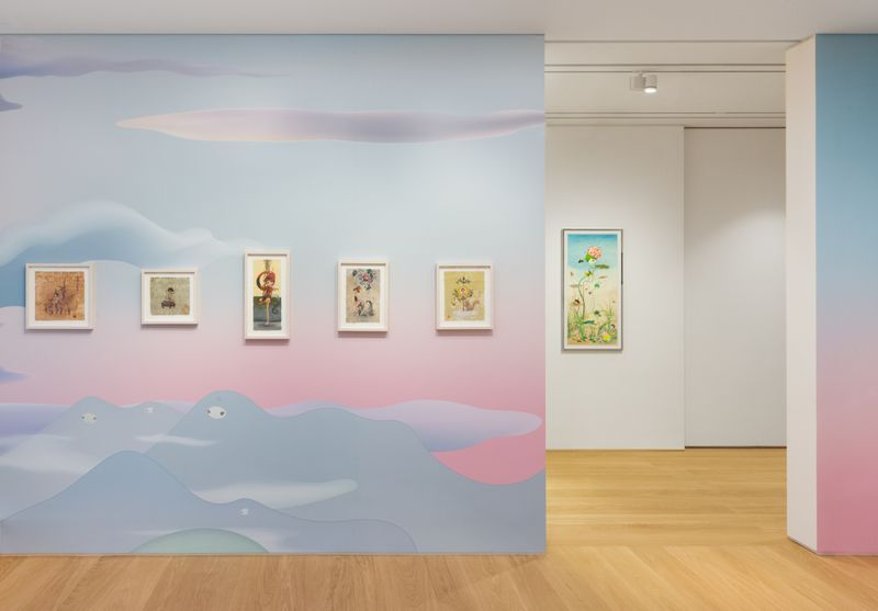 """Chiho_Aoshima_View of the exhibition """"Our Tears Shall Fly Off into Outer Space"""" at HONG KONG GALLERY Hong Kong (Hong Kong), 2020_24486"""