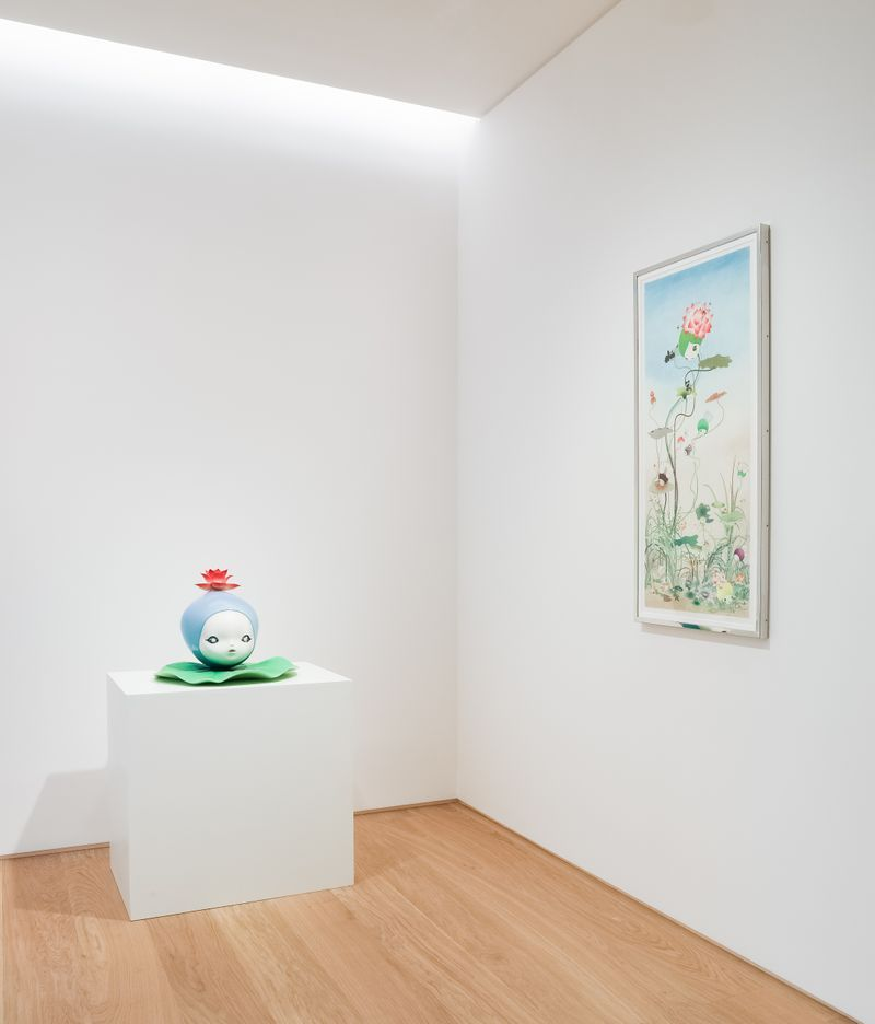 "Chiho_Aoshima_View of the exhibition ""Our Tears Shall Fly Off into Outer Space"" at HONG KONG GALLERY Hong Kong (Hong Kong), 2020_24520"