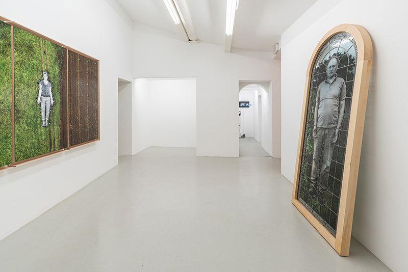 "Jr_View of the exhibition ""Omelia Contadina"" at Galleria Continua San Gimignano (Italy)_24733"