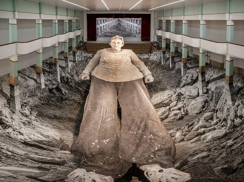 "Jr_View of the exhibition ""Omelia Contadina"" at Galleria Continua San Gimignano (Italy)_24735"