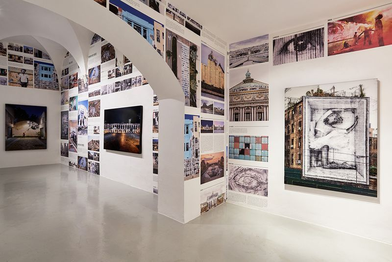 "Jr_View of the exhibition ""Omelia Contadina"" at Galleria Continua San Gimignano (Italy)_24736"