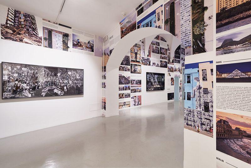 "Jr_View of the exhibition ""Omelia Contadina"" at Galleria Continua San Gimignano (Italy)_24737"