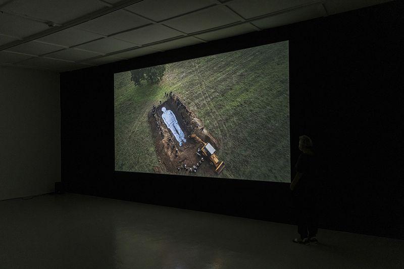 "Jr_View of the exhibition ""Omelia Contadina"" at Galleria Continua San Gimignano (Italy)_24738"
