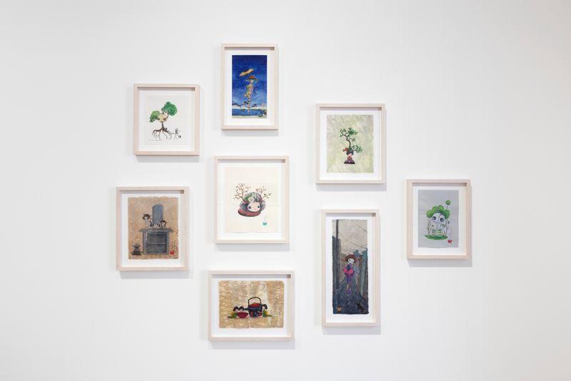 "Takashi_Murakami_View of the group exhibition ""Healing"" curated by Takashi Murakami  at GALERIE PERROTIN Paris (France)_25015"
