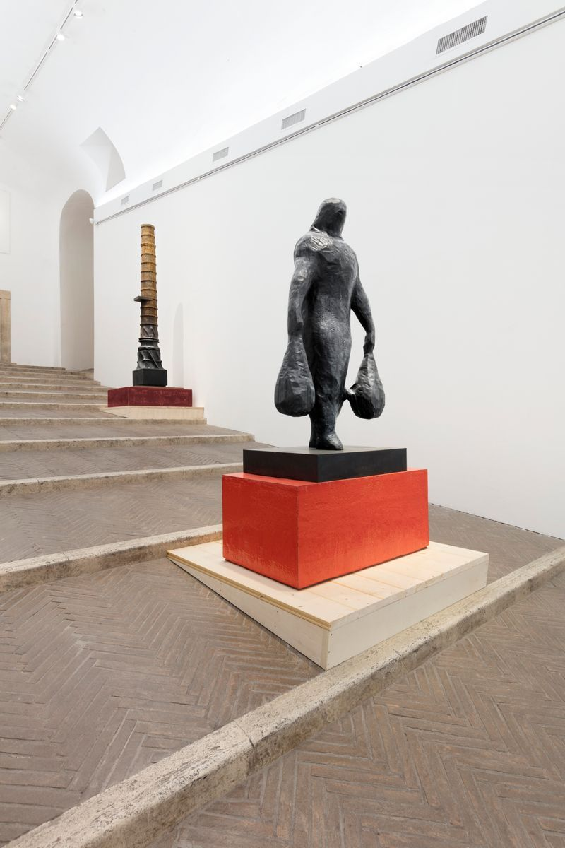 """Johan_Creten_View of the exhibition """"I Peccati"""" at VILLA MEDICI ROMA (Italy), 2020_25057"""