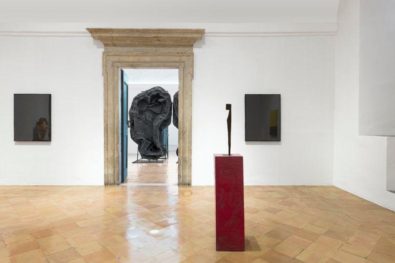"""Johan_Creten_View of the exhibition """"I Peccati"""" at VILLA MEDICI ROMA (Italy), 2020_25058"""