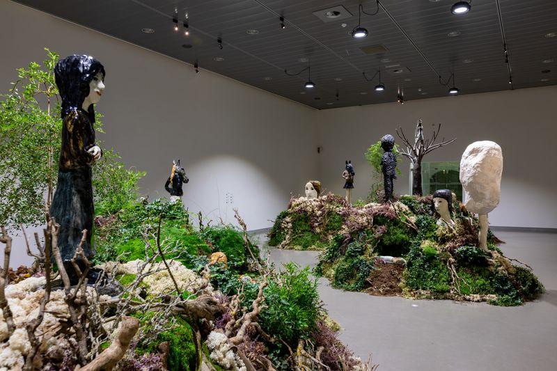 "Klara_Kristalova_View of the group exhibition ""Human After All"" at Keramiekmuseum Princessehof Leeuwarden (Netherlands), 2020_25185"