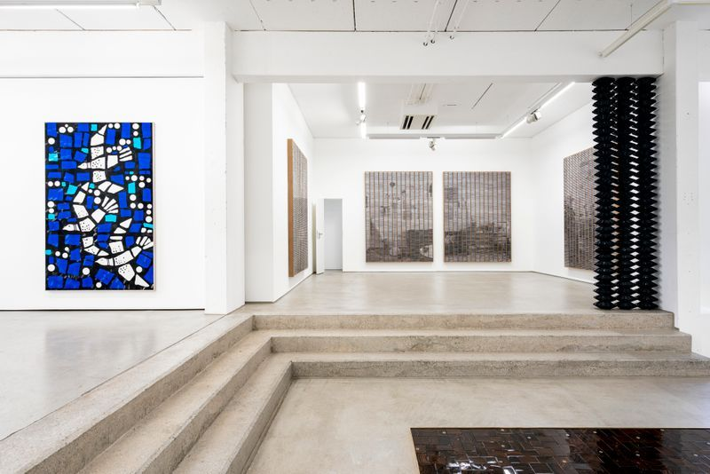 "Gregor_Hildebrandt_View of the exhibition ""LUFT IN ALLEN ZIMMERN - Gregor Hildebrandt"" at G2 Kunsthalle Leipzig (Germany)_25204"