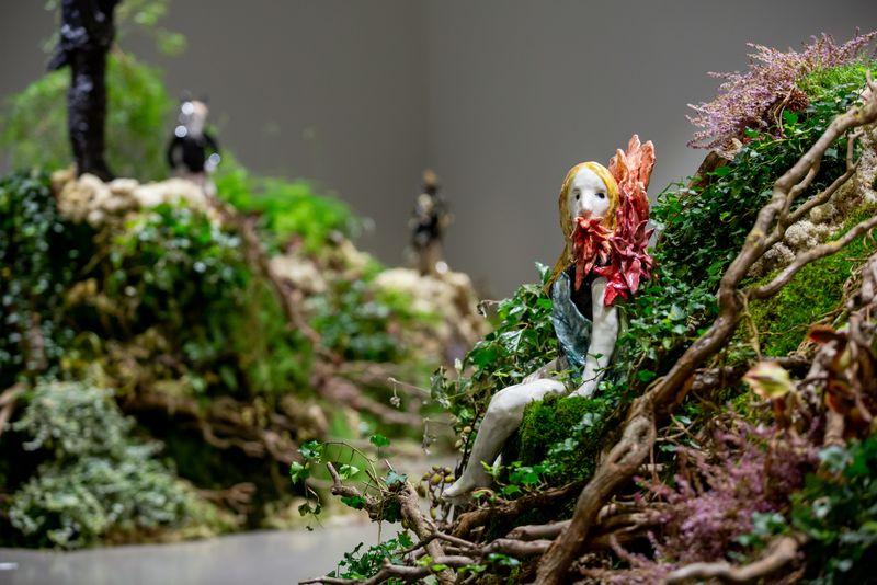 "Klara_Kristalova_View of the group exhibition ""Human After All"" at Keramiekmuseum Princessehof Leeuwarden (Netherlands), 2020_25357"
