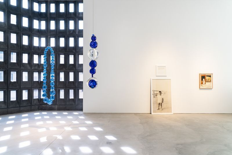 """Installation view of the group exhibition """"Just Looking, Still Looking, Always Looking"""""""