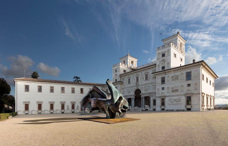 """Johan_Creten_View of the exhibition """"I Peccati"""" at French Academy in Rome – Villa Medici Rome (Italy), 2020_26789"""