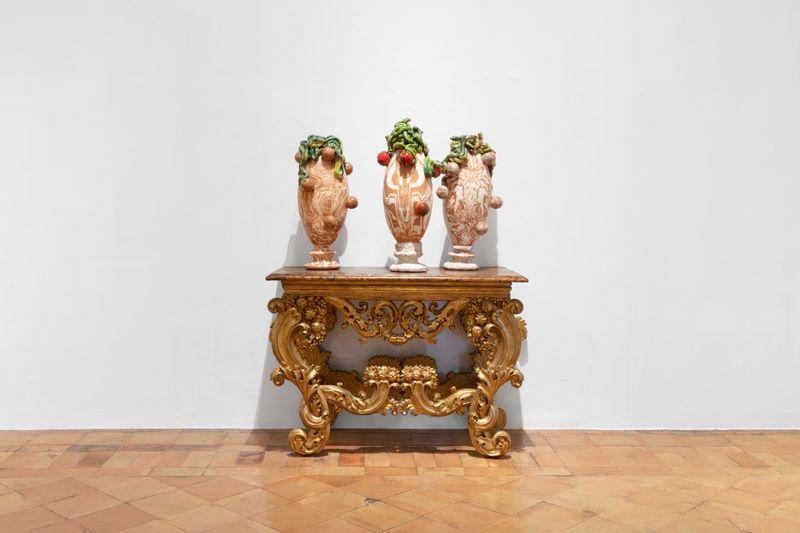 """Johan_Creten_View of the exhibition """"I Peccati"""" at French Academy in Rome – Villa Medici Rome (Italy), 2020_26792"""