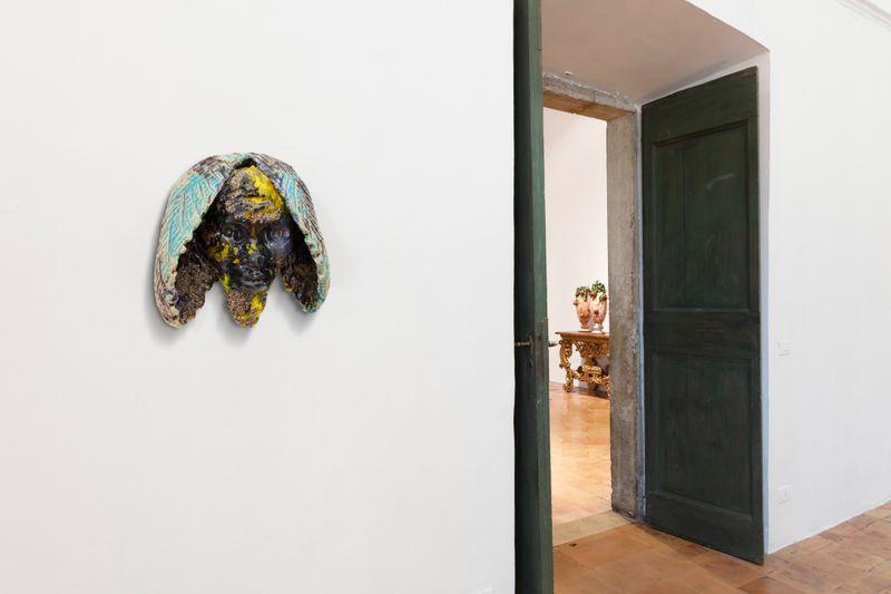 """Johan_Creten_View of the exhibition """"I Peccati"""" at French Academy in Rome – Villa Medici Rome (Italy), 2020_26793"""
