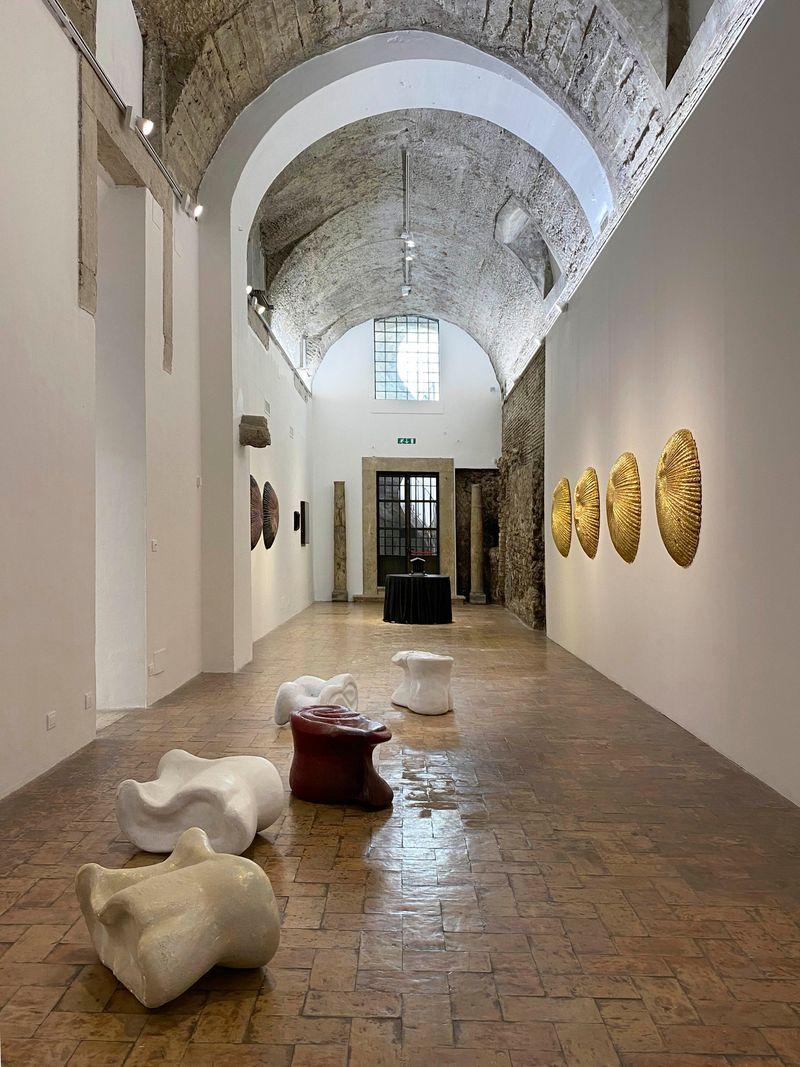 """Johan_Creten_View of the exhibition """"I Peccati"""" at French Academy in Rome – Villa Medici Rome (Italy), 2020_26798"""