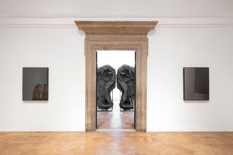 """Johan_Creten_View of the exhibition """"I Peccati"""" at French Academy in Rome – Villa Medici Rome (Italy), 2020_26864"""