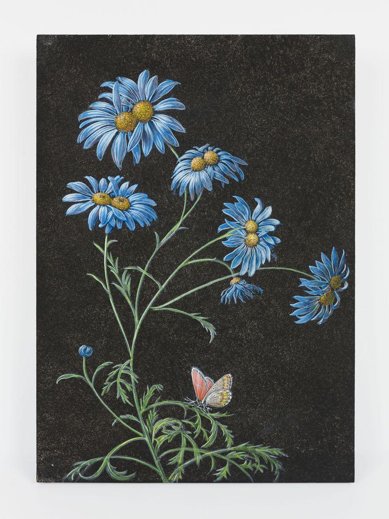 Future HerbariumDistemper on wood34 x 24 x 5 cm | 13 3/8 x 9 7/16 x 1 15/16 inch© Laurent Grasso / ADAGP, Paris & SACK, Seoul2021