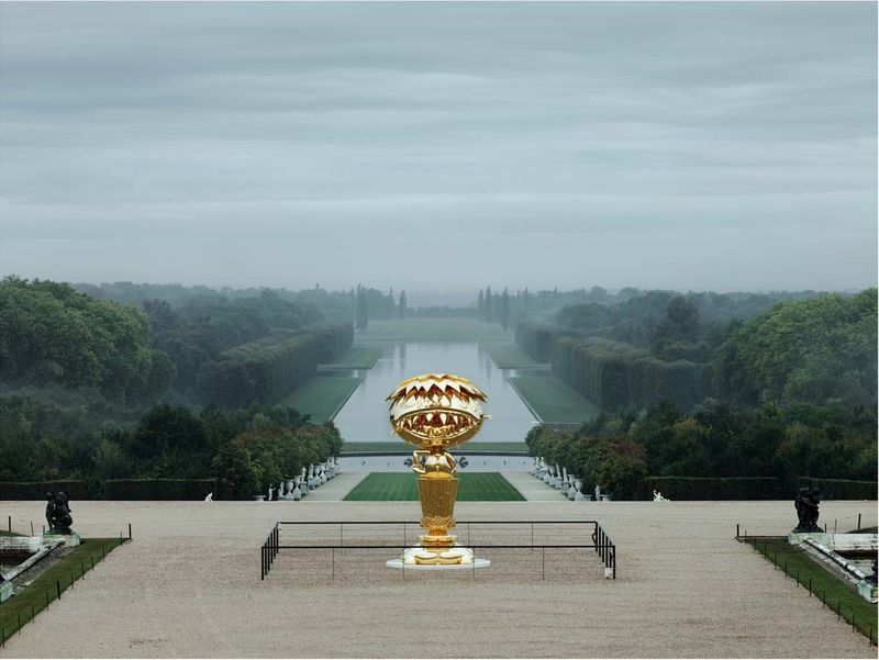 """For Japanese, myself included, the Château de Versailles is one of the great symbols in Western history.It is emblematic of an elegance, sophistication, and artistic ambition that most of us could only dream of.We understand, of course, that the fuse that sparked the fires of revolution led right through the centerof the building.But in many ways, it all comes across as a fantastic tale from a kingdom far, far away. Just as the peopleof France might find it difficult to recreate in their minds an accurate image of the age of the Samurai,so too does the story of the palace become one that is, for us, diluted of reality.Thus, it is likely that the Versailles of my imagination is one that my mind has exaggerated and transformeduntil it has become a kind of surreal world of its own.It is this that I have tried to capture in this exhibition.I am The Cheshire Cat who greets Alice in Wonderland with his devilish grin, and chatters on as shewanders around the Château.With my playful smile, I invite you all to the Wonderland of Versailles.""  By Takashi Murakami"