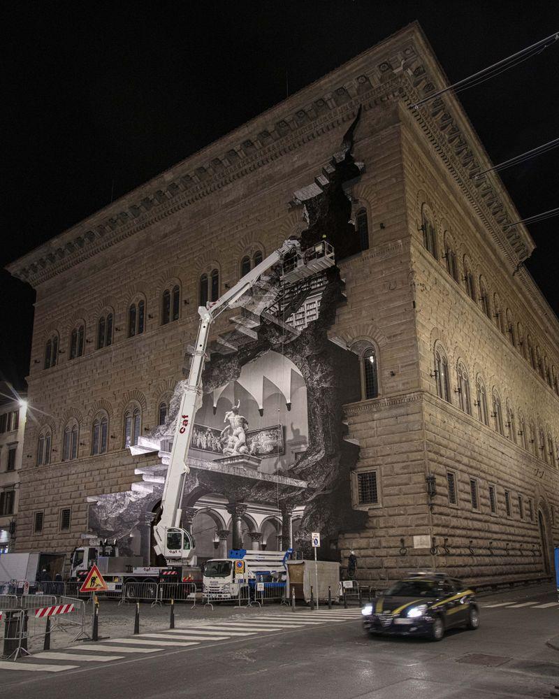 Palazzo Strozzi, In progress, Florence, Italy, 2021