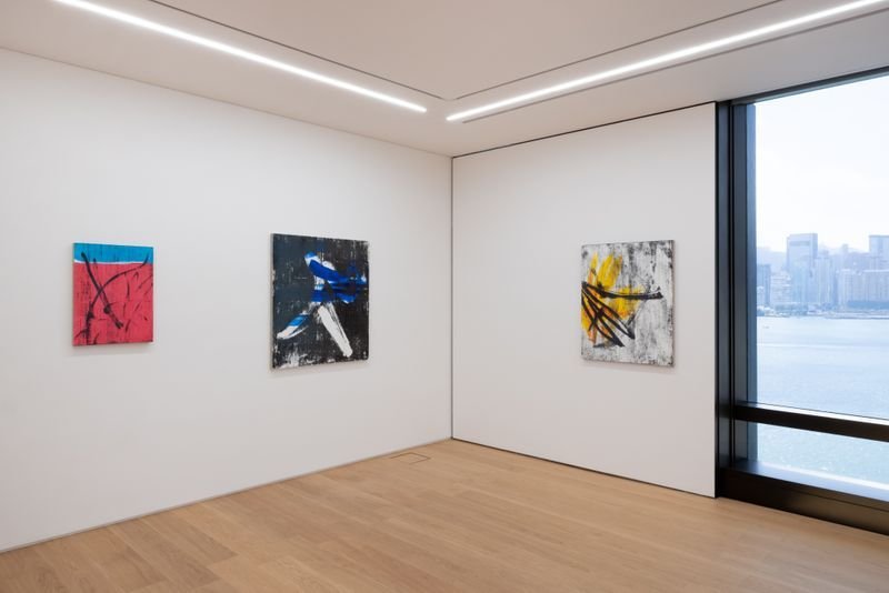"""Gregor_Hildebrandt_View of the exhibition """"Behind my back, in front of my eyes"""" at HONG KONG Gallery Limited Hong Kong (Hong Kong), 2021_28607"""