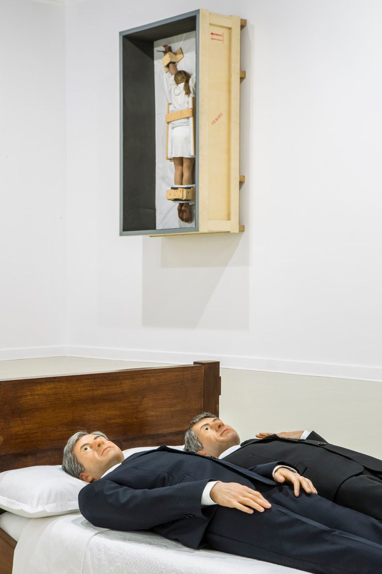 """Maurizio_Cattelan_View of the exhibition """"Amen"""" curated by Justyna Wesołowska  at Center for Contemporary Art, Ujazdowski Castle Warsaw (Poland), 2012_4827_1"""