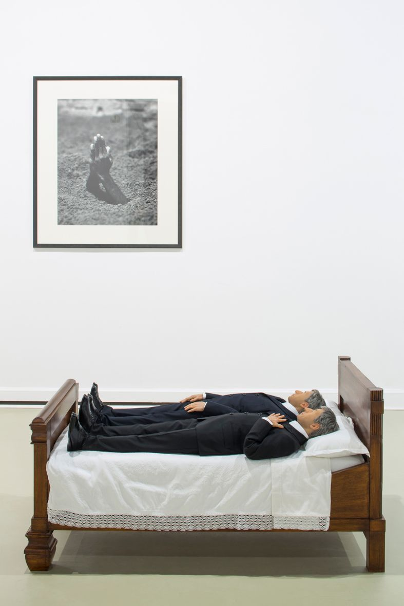"""Maurizio_Cattelan_View of the exhibition """"Amen"""" curated by Justyna Wesołowska  at Center for Contemporary Art, Ujazdowski Castle  Warsaw (Poland), 2012_4828_1"""