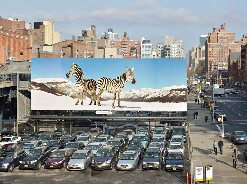 View of High Line Art, curated by Cécilia Alemani, High Line New York