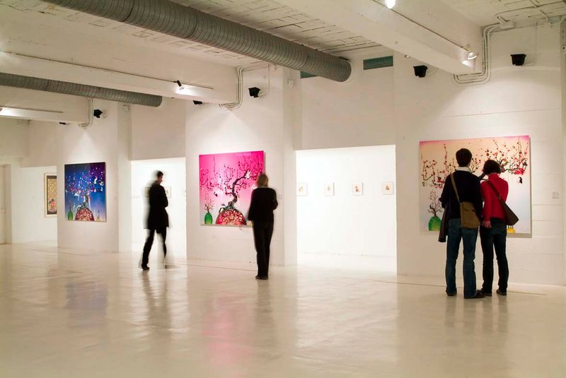 """Chiho_Aoshima_View of the exhibition """"Horror and seduction"""" at Fondation Joan Miro (Spain), 2008_511_1"""