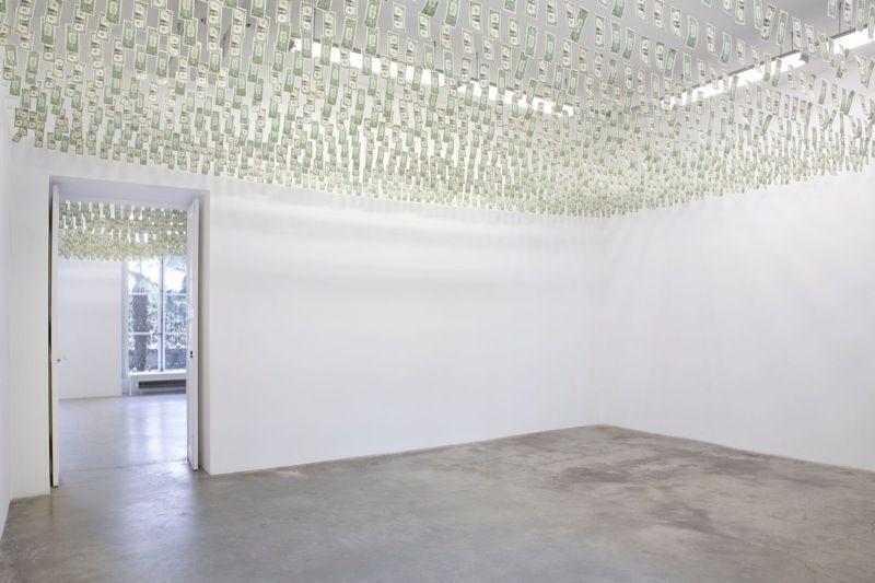 """Moneybox"" , Galerie Perrotin, Paris, 2013."