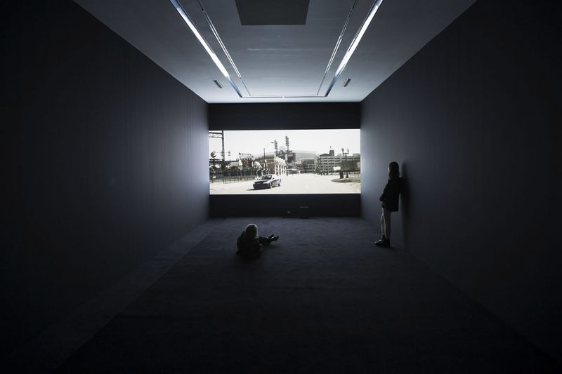 View of the exhibition at Galerie Perrotin, Paris (France), 2013