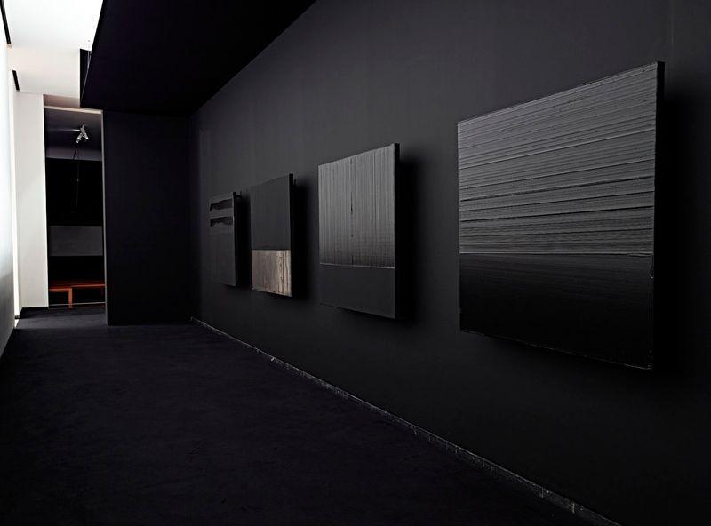 """Pierre_Soulages_View of the exhibition """"Soulages XXIe siècle"""" at Musée des Beaux-Arts de Lyon  (France), 2012_6138_1"""
