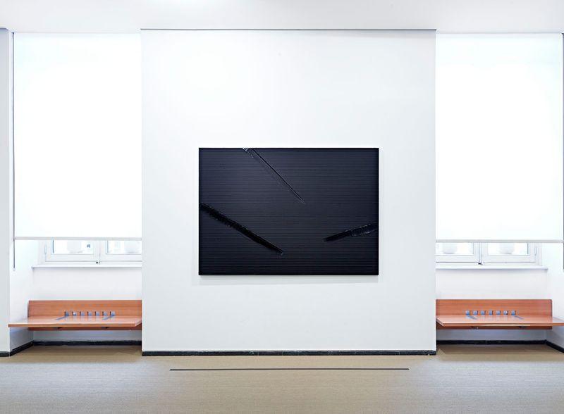 """Pierre_Soulages_View of the exhibition """"Soulages XXIe siècle"""" at Musée des Beaux-Arts de Lyon  (France), 2012_6139_1"""