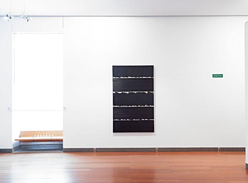 """Pierre_Soulages_View of the exhibition """"Soulages XXIe siècle"""" at Musée des Beaux-Arts de Lyon  (France), 2012_6141_1"""