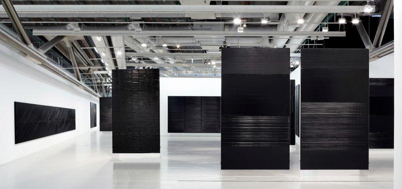 """Pierre_Soulages_View of the exhibition """"Soulages"""" at Centre Georges Pompidou Paris (France), 2010_6142_1"""