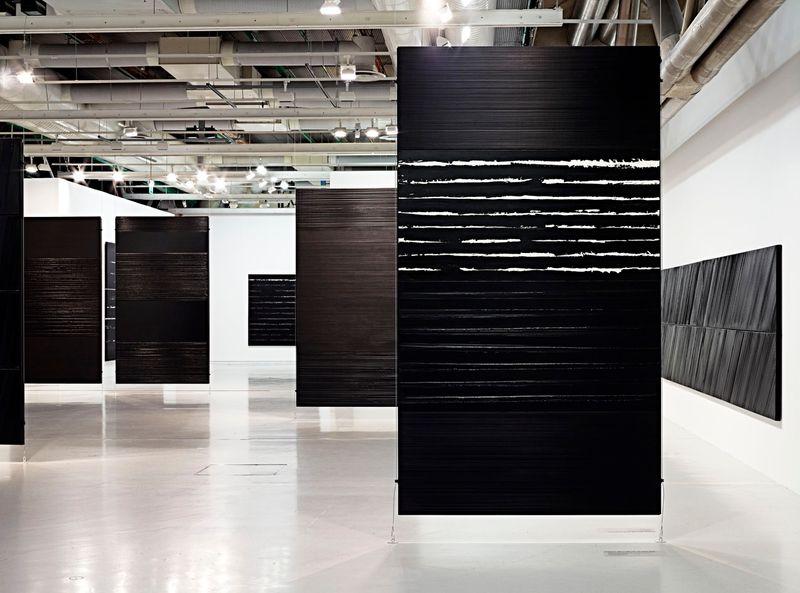 """Pierre_Soulages_View of the exhibition """"Soulages"""" at Centre Georges Pompidou Paris (France), 2010_6143_1"""
