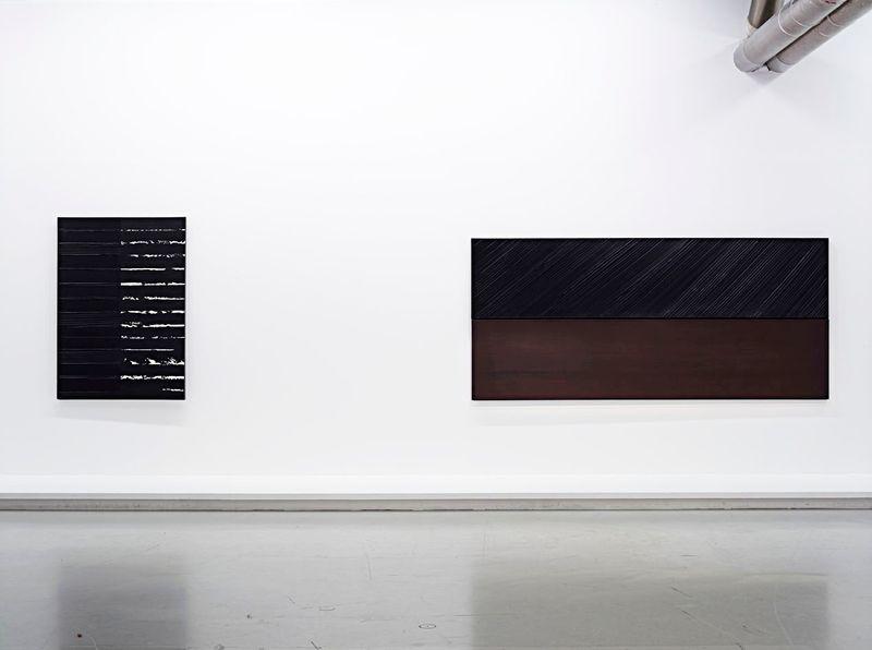 """Pierre_Soulages_View of the exhibition """"Soulages"""" at Centre Georges Pompidou Paris (France), 2010_6145_1"""