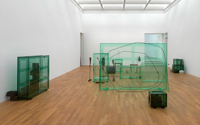 "Tatiana_Trouve_View of the exhibition ""I tempi doppi "" at Kunstmuseum Bonn Bonn (Germany), 2014_6739_1"