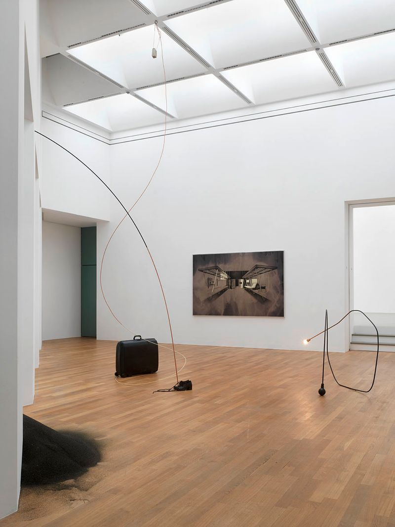 "Tatiana_Trouve_View of the exhibition ""I tempi doppi "" at Kunstmuseum Bonn Bonn (Germany), 2014_6741_1"