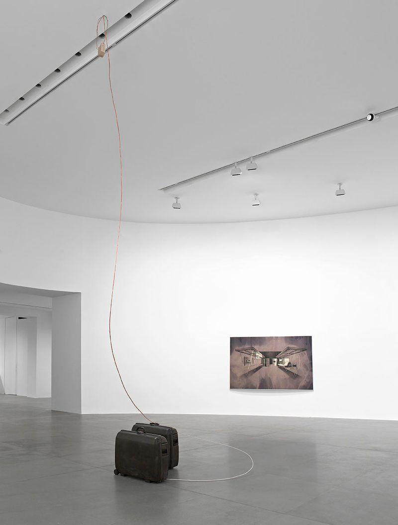 "Tatiana_Trouve_View of the exhibition ""I cento titoli in 36 524 giorni "" at Gagosian Gallery  Roma (Italy), 2013_6783_1"