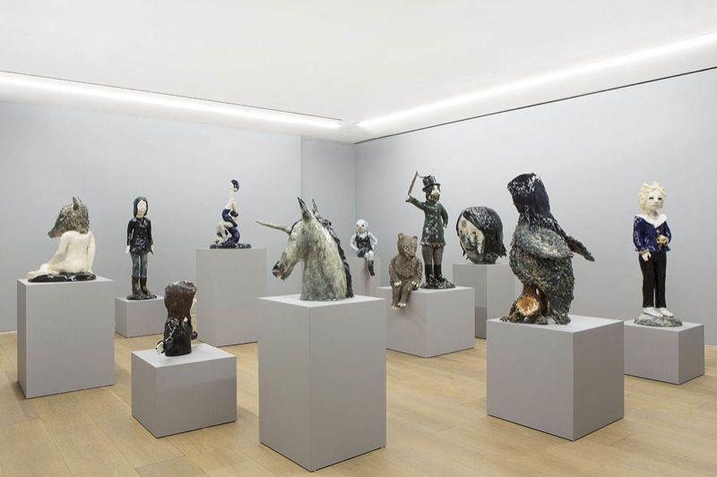 "Klara_Kristalova_View of the exhibition ""Underworld"" at Perrotin - 909 Madison Avenue, New York  New York (USA), 2014_6956_1"
